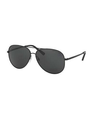 michael kors female 60mm kendall i aviator sunglasses