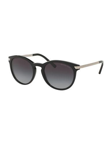 michael kors female adriana iii gradient round sunglasses