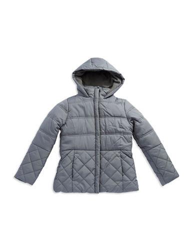 ROTHSCHILDGirls 7-16 Quilted Peplum Puffer Coat