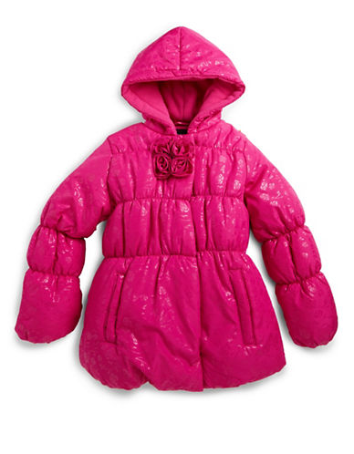 ROTHSCHILDGirls 2-6x Quilted Hooded Puffer Coat