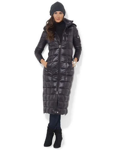 Lauren Ralph Lauren Packable Down Maxi Coat
