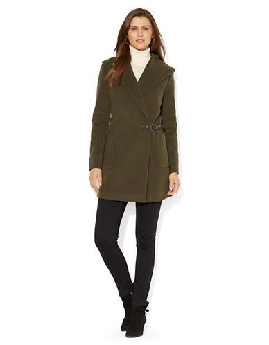 LAUREN RALPH LAURENCashmere Wool Blend Hooded Coat