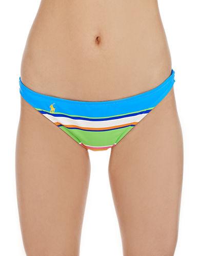 POLO RALPH LAURENBold Stripe Hipster Swim Bottoms