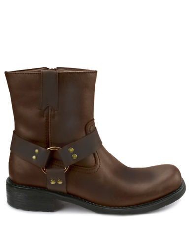 GBXBarraco Leather Harness Ankle Boots