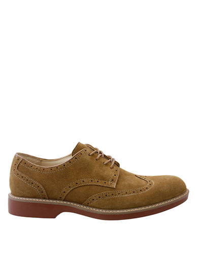 BASS Pembroke Suede Wingtip Oxfords