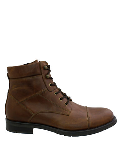 GBXBarstock Leather Ankle Boots