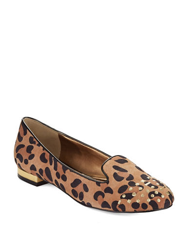 ANNE KLEINCurran Embellished Suede Loafers