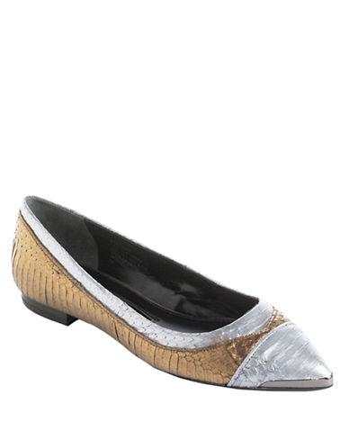 BOUTIQUE 9Neekko Croc-Embossed Leather Flats