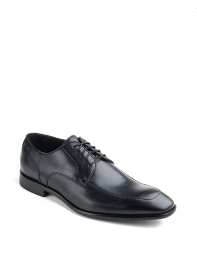 HUGO BOSS Mettor Leather Lace-Up Dress Shoes