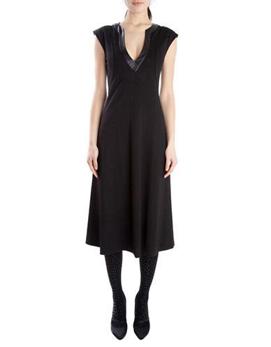 Shop Cynthia Rowley online and buy Cynthia Rowley V Neck Dress dress online