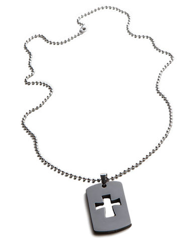LORD & TAYLORCross Dog Tag Necklace