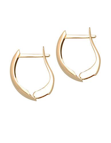 LORD & TAYLORHoop Earrings in 14 Kt. Yellow Gold