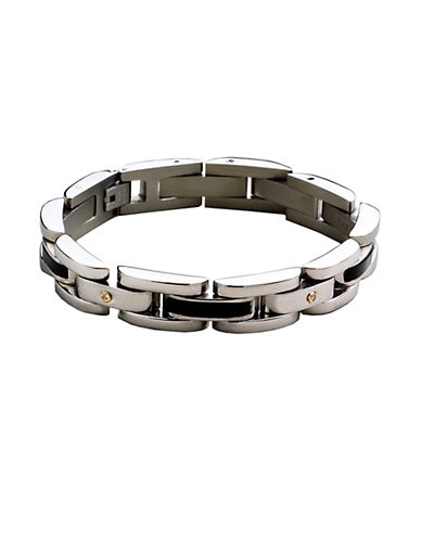 LORD & TAYLOR Sterling Silver Men's Bracelet