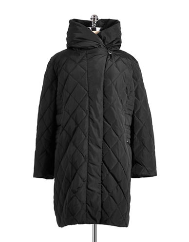 Portrait Petite Pillow Collared Down Jacket