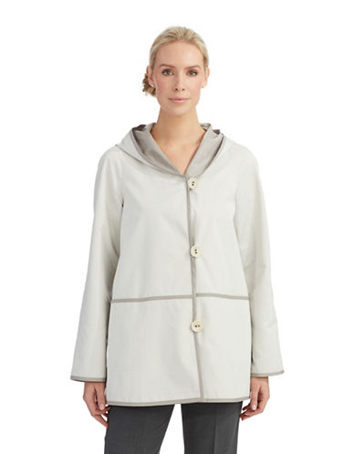 PORTRAITDeep Pocket Coat With Hood