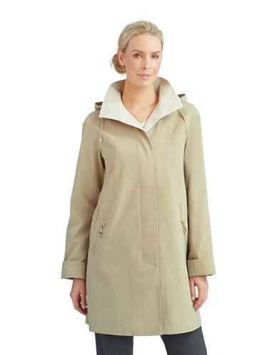 PORTRAITPetite Lightweight Hooded Jacket With Pocket Details