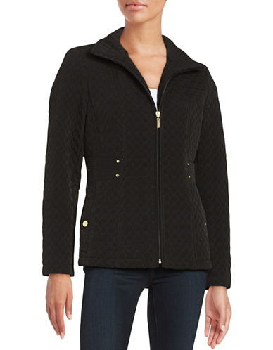 gallery female 188971 quilted zipup jacket
