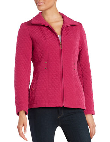 gallery female  quilted zipup jacket
