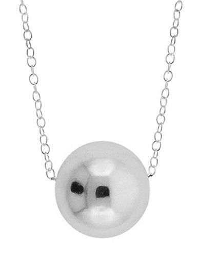 LORD & TAYLORSterling Silver Circular Pendant Necklace
