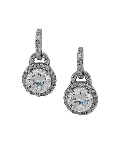 LORD & TAYLOR Crystal Drop Earrings