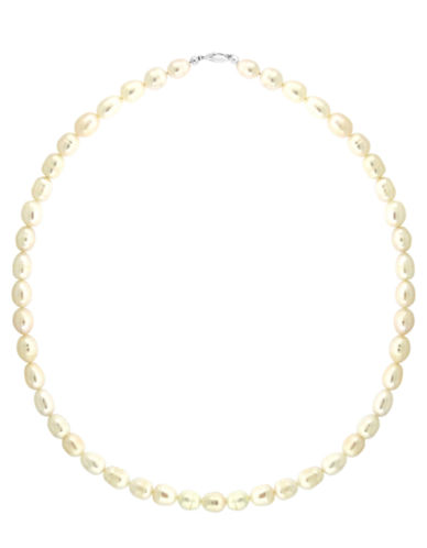 LORD & TAYLOR Gold-Tone Freshwater Pearl Necklace