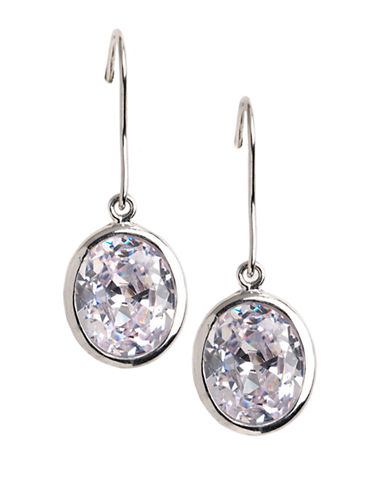 LORD & TAYLORSterling Silver Faceted Oval Drop Earrings