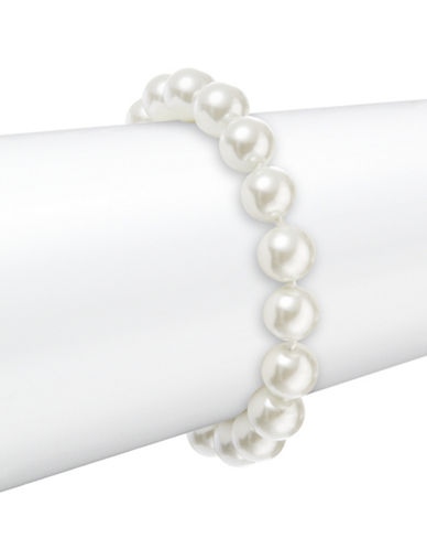 LAUREN RALPH LAURENFaux Pearl Toggle Bracelet