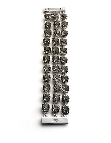 A.B.S. BY ALLEN SCHWARTZFaceted Crystal Multi-Chain Bracelet