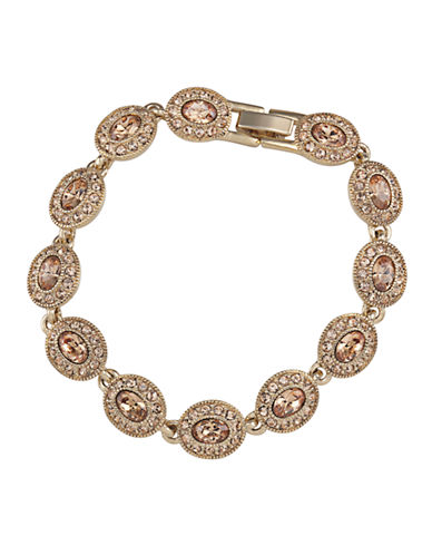 CAROLEE Gold-Plated Oval Flex Bracelet