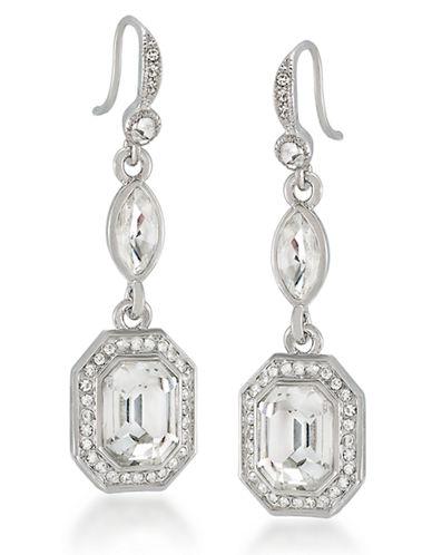 CAROLEEGlass Stone Drop Earrings