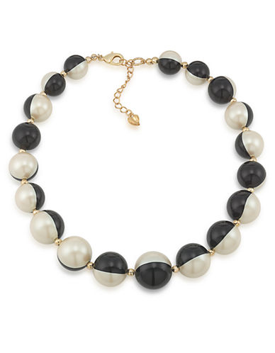 CAROLEE Optical Opposites Bead Necklace