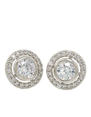 CAROLEEThe Looking Glass Button Stud Earrings