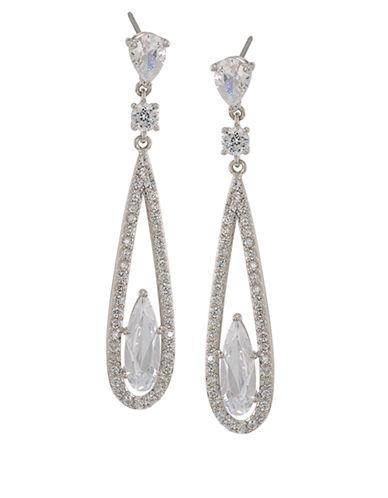 CAROLEEThe Looking Glass Linear Drop Earrings