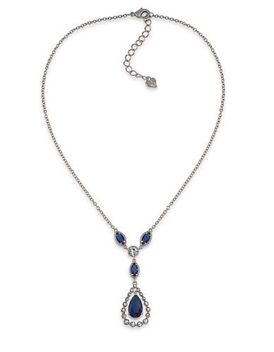 CAROLEEUptown Recolor Blue 'Y' Pendant Necklace