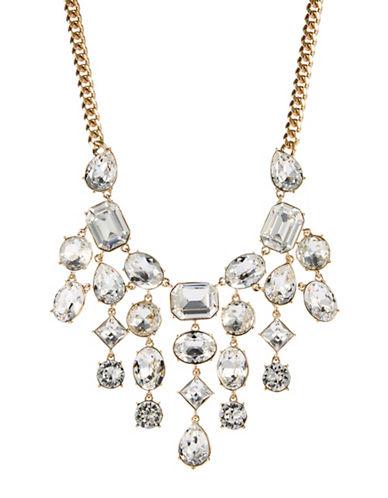 LAUREN RALPH LAURENSwarovski Crystal Bib Necklace
