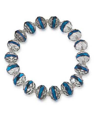CAROLEECosmic Reflections Blue Rondelle Stretch Bracelet