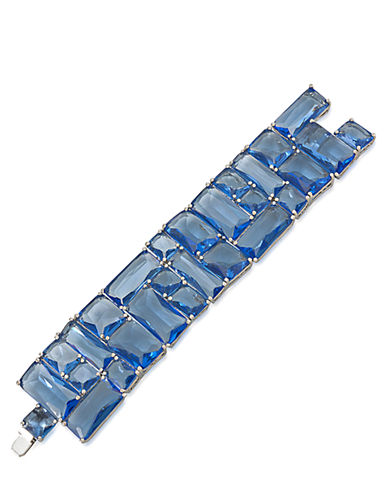 CAROLEEDark Star Wide Dramatic Bracelet