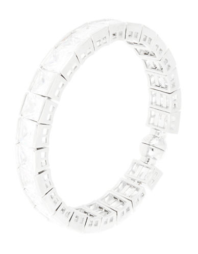 A.B.S. BY ALLEN SCHWARTZCubic Zirconia Magnetic Bangle