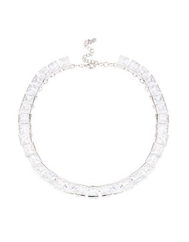 A.B.S. BY ALLEN SCHWARTZCubic Zirconia Collar Necklace