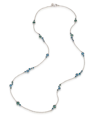 CAROLEE Gems and Tonic Stone Cluster Necklace