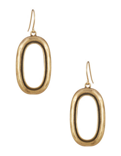 LAUREN RALPH LAURENGoldtone Oval Drop Earrings