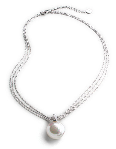 Majorica Triple-Strand Baroque Pearl Necklace