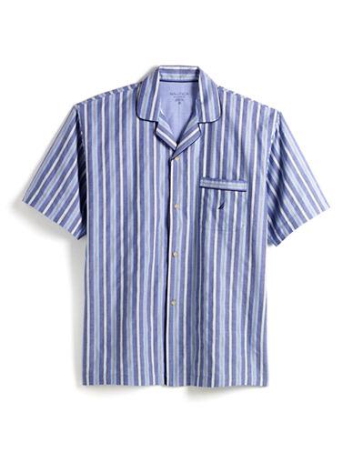 NAUTICAShort-Sleeved Button-Down Pajama Top