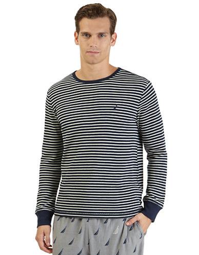 NAUTICAThermal Stripe Sleep Shirt