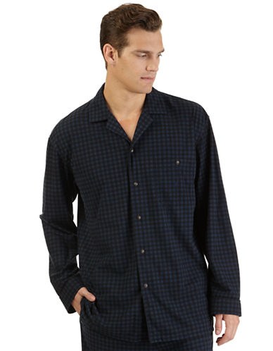 NAUTICACheck Sleep Shirt