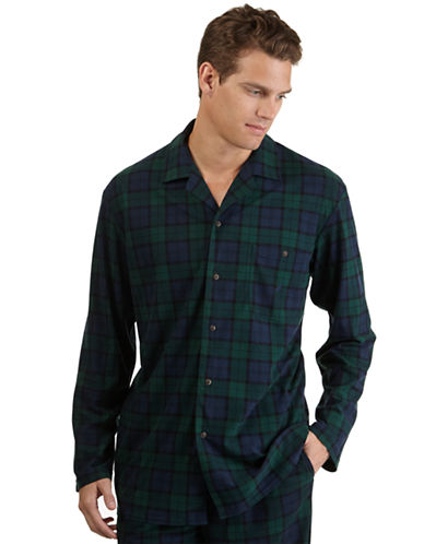 NAUTICAFleece Tartan Plaid Shirt