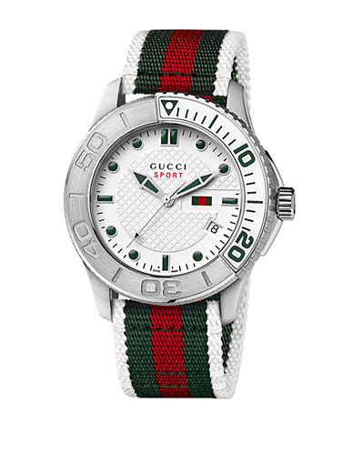 gucci male g timeless collection watch