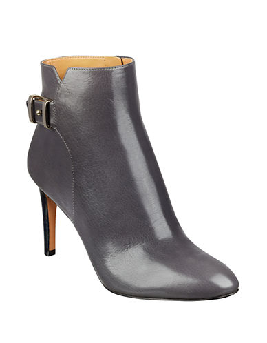 NINE WESTPalafox Leather Ankle Boots