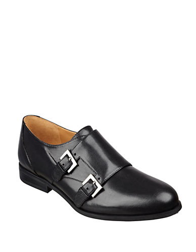 NINE WEST Toastie Buckled Loafers
