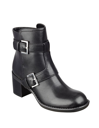 NINE WESTLorena Leather Ankle Boots